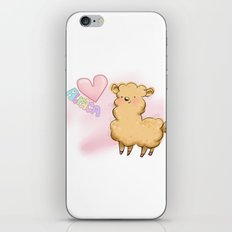 Heart Alpaca iPhone & iPod Skin