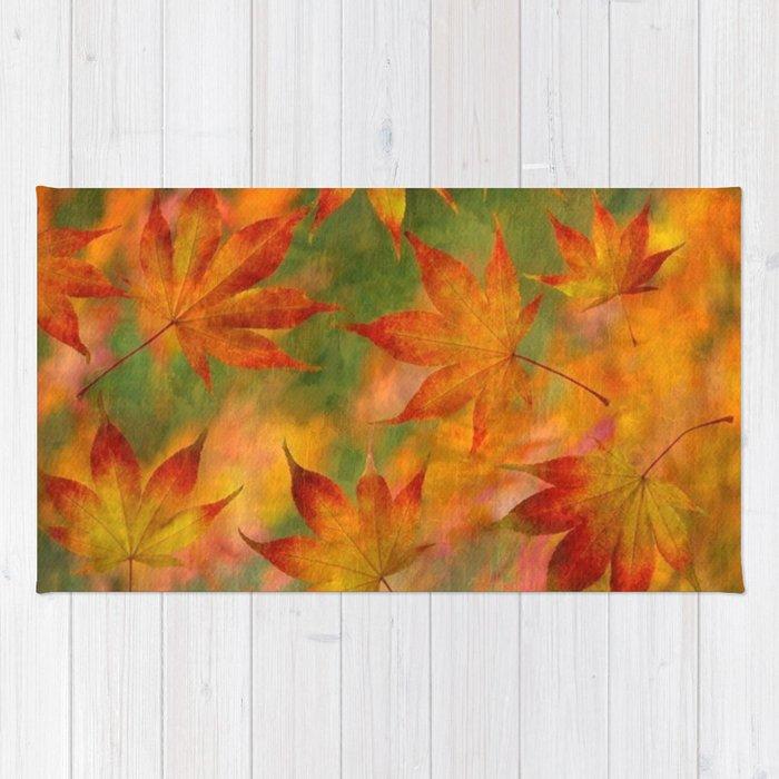 Falling Leaves - Autumn Rug