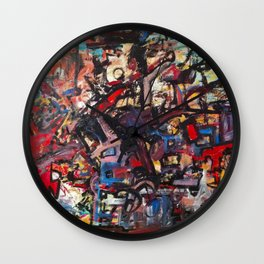 State of Mind Wall Clock