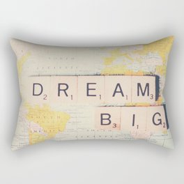 dream big ... Rectangular Pillow