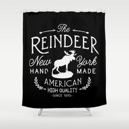 The Reindeer Shower Curtain