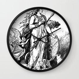 Johannes Gehrts Freya By Johannes Gehrts Wall Clock