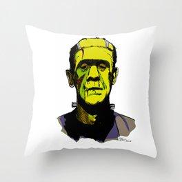 Frankie Boy Throw Pillow