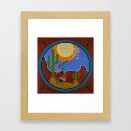 Kokopelli #2 Framed Art Print