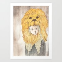luna lovegood Art Prints featuring Luna Lovegood by Natasha Gardos