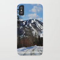 vermont iPhone & iPod Cases featuring Vermont Mountain by Tamsin Lucie