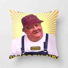 Fruity Says....HARDEN UP Throw Pillow