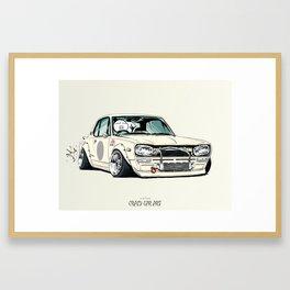 ozizo art 0002 Framed Art Print