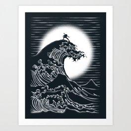 Waterbending Art Print