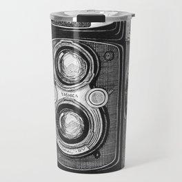 Yashica Vintage Camera Travel Mug