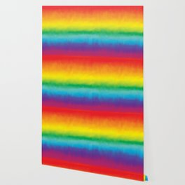 Watercolor Rainbow Wallpaper