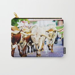 Texas Stockyards Carry-All Pouch
