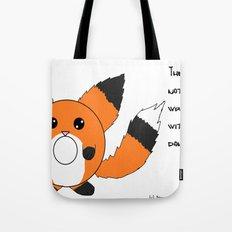 Donut fox  Tote Bag