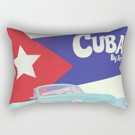 Cuba by Air Rectangular Pillow