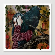 'You can keep me in one of your cages and mock my loss of liberty' Canvas Print