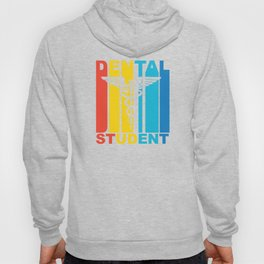 Vintage 1970's Style Dental Student Graphic Hoody