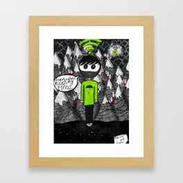 """Psychic syndromes : """"Thought insertion syndrome"""" by Anxiety and Gretel Framed Art Print"""