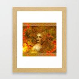 """Ofelita de Oro"" (From ""Death, Life, Hope"") Framed Art Print"