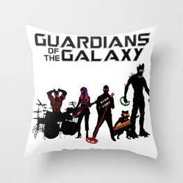 Guardians of the Galaxy - Awesome Mix Vol.2 Throw Pillow