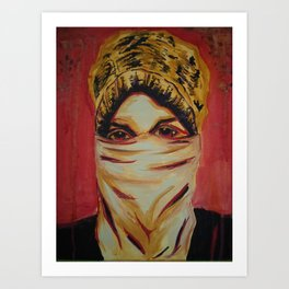 The Protester Art Print