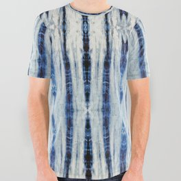 Nori Blue All Over Graphic Tee