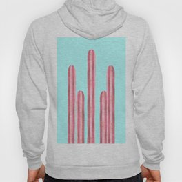 Garden of cacti and blue Hoody