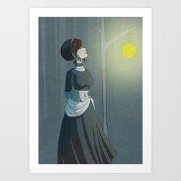 A Calm Night Art Print