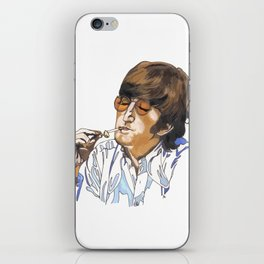 John with ciggie iPhone Skin
