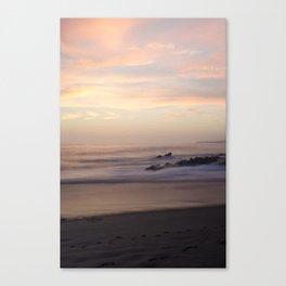 Slow Sunset Canvas Print