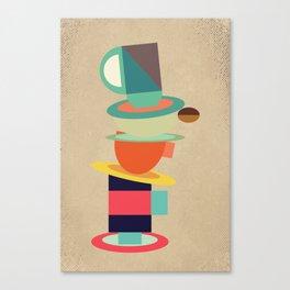 Coffee and Tea #society6 #decor #buyart Canvas Print