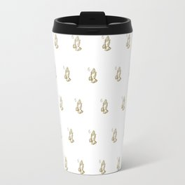 6 God - White Travel Mug