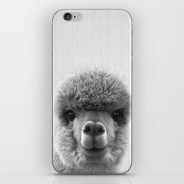 Alpaca Smile iPhone Skin