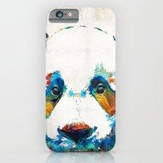 Colorful Panda Bear Art By Sharon Cummings iPhone 6 Slim Case