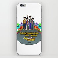 yellow submarine iPhone & iPod Skins featuring Yellow Submarine by The Beatles Complete On Ukulele