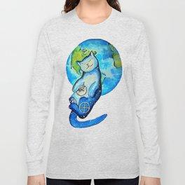 Earth Cat Long Sleeve T-shirt