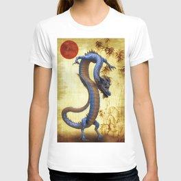 Chinese Dragon   Long  T-shirt