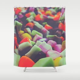Sweets 05A - Dolly Mixtures Shower Curtain