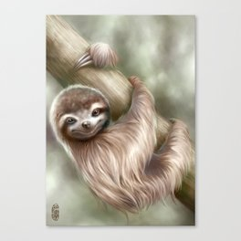 Hanging Around Canvas Print