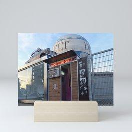 Old photo booth _ (photo machines) Mini Art Print