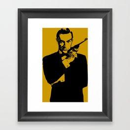 James Bond 007 Framed Art Print