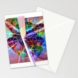 Prism Diamonds Stationery Cards