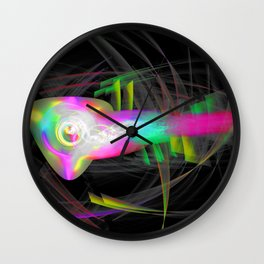80's Dance Party Wall Clock