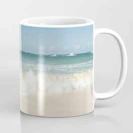 beach love shoreline serenity Coffee Mug