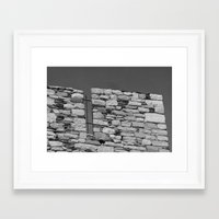 team fortress Framed Art Prints featuring Fortress by Upperleft Studios