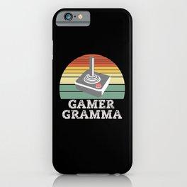 Gamer GRAMMA Retro Game iPhone Case