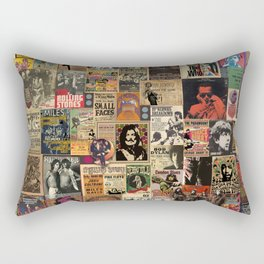 And the beat goes on Rectangular Pillow