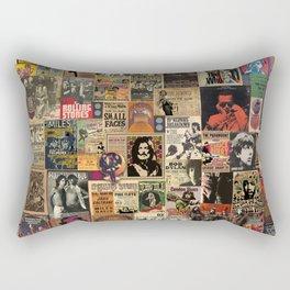 Rock'n Roll Stories Rectangular Pillow