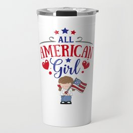 All American Girl Travel Mug
