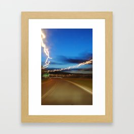 British roadside 2 Framed Art Print