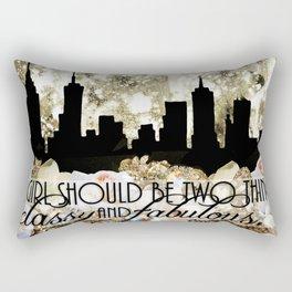 Classy and Fabulous Rectangular Pillow
